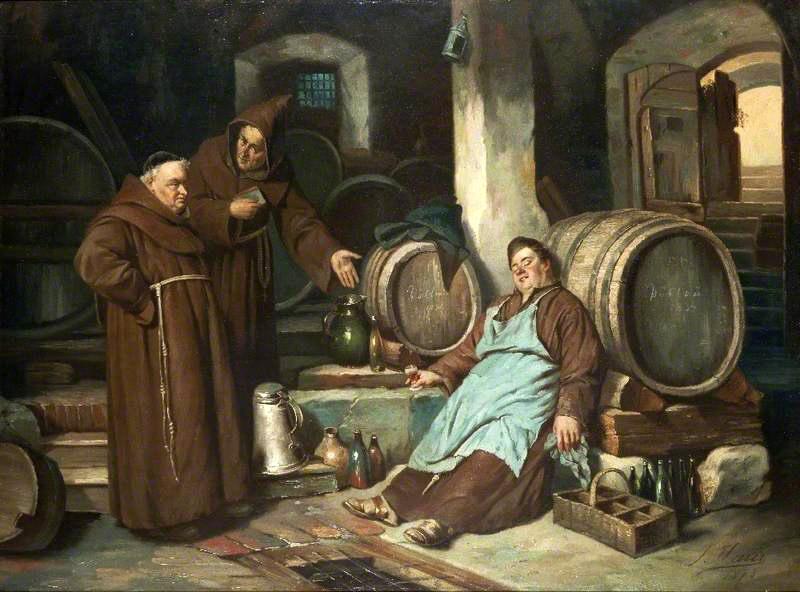 Bridgeman; © Cheltenham Art Gallery & Museum; Supplied by The Public Catalogue Foundation. Источник: В монастырском погребке
