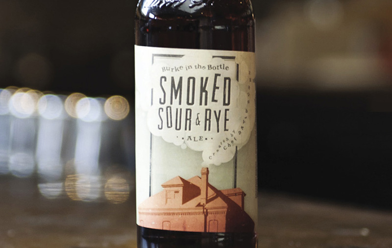 Burke in the Bottle Smoked Sour Rye. Фото: Haute Life