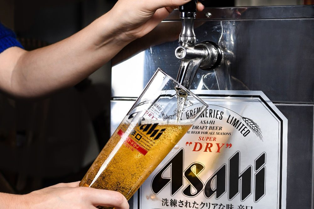 Asahi. Фото: Foodbev Media