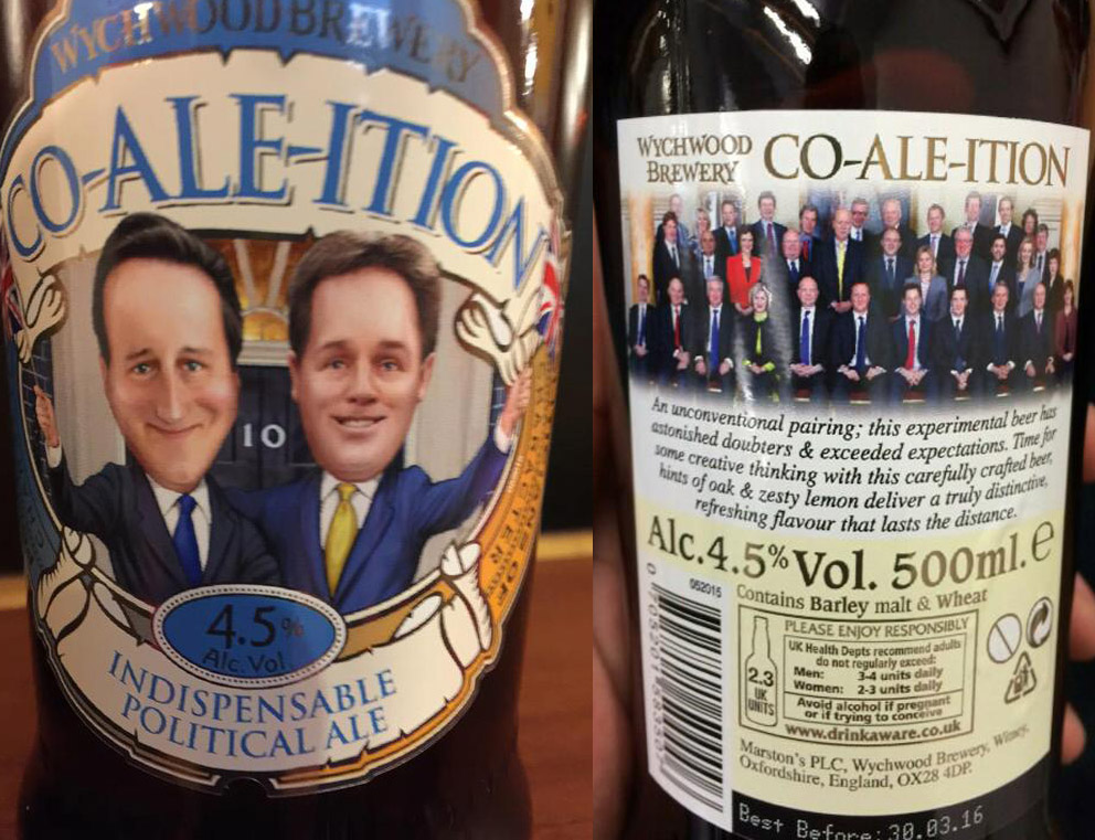 Wychwood Brewery Co-ale-ition. Фото: Miguel