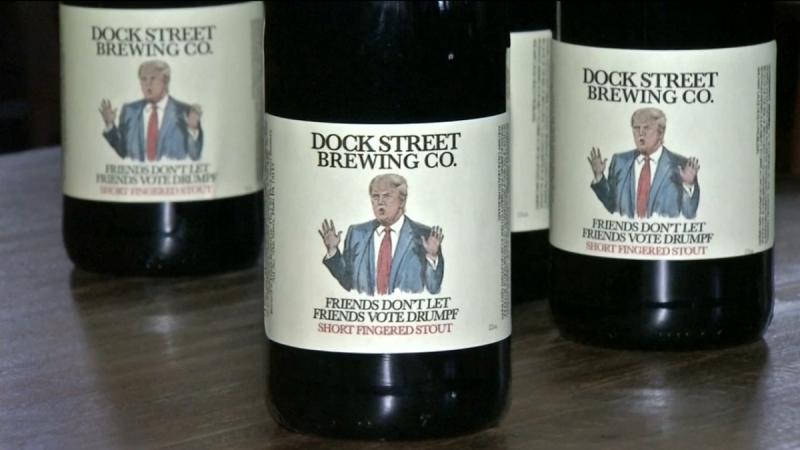 Dock Street Brewery Friends Don't Let Friends Vote Drumpf. Фото: ibtimes.co.uk