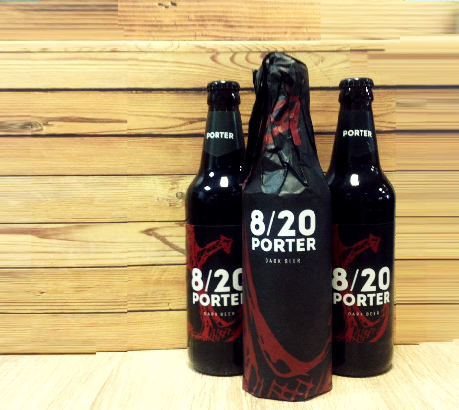 Крыніца Porter 8/20 в особенной бутылке