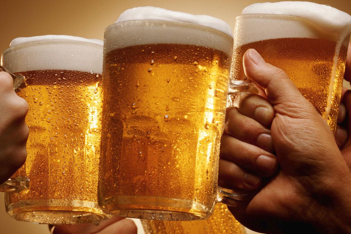 Картинки чокаются пивом