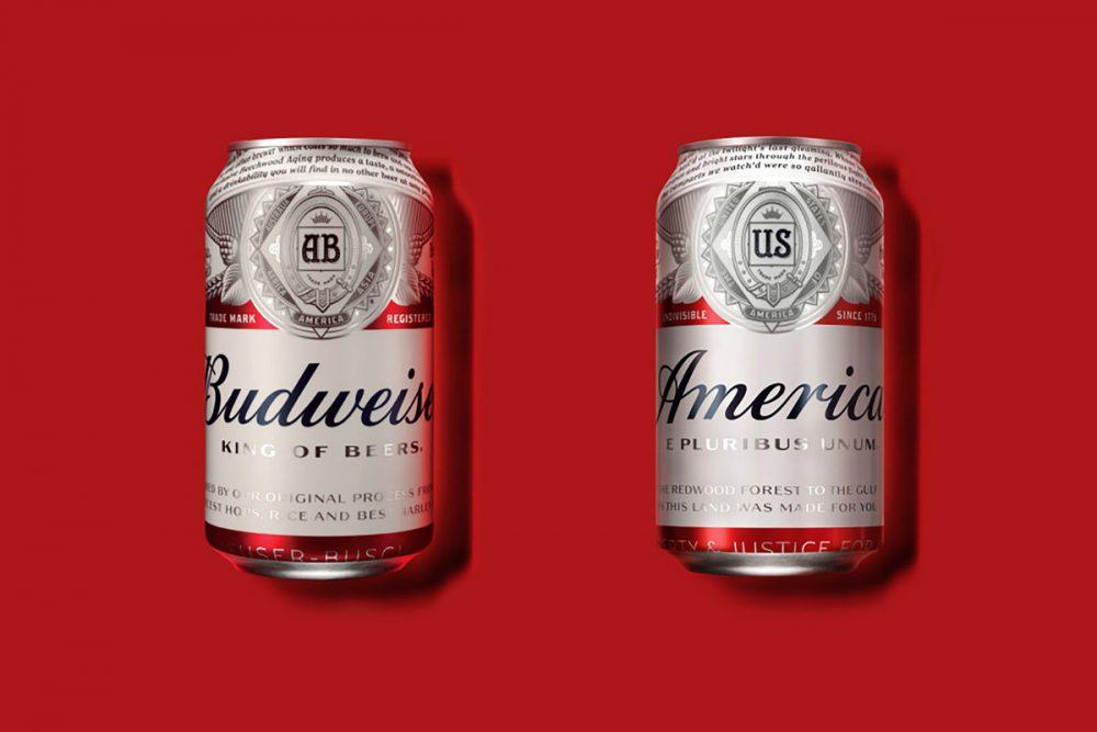 AB InBev переименовало пиво Budweiser в America. Фото: CNN