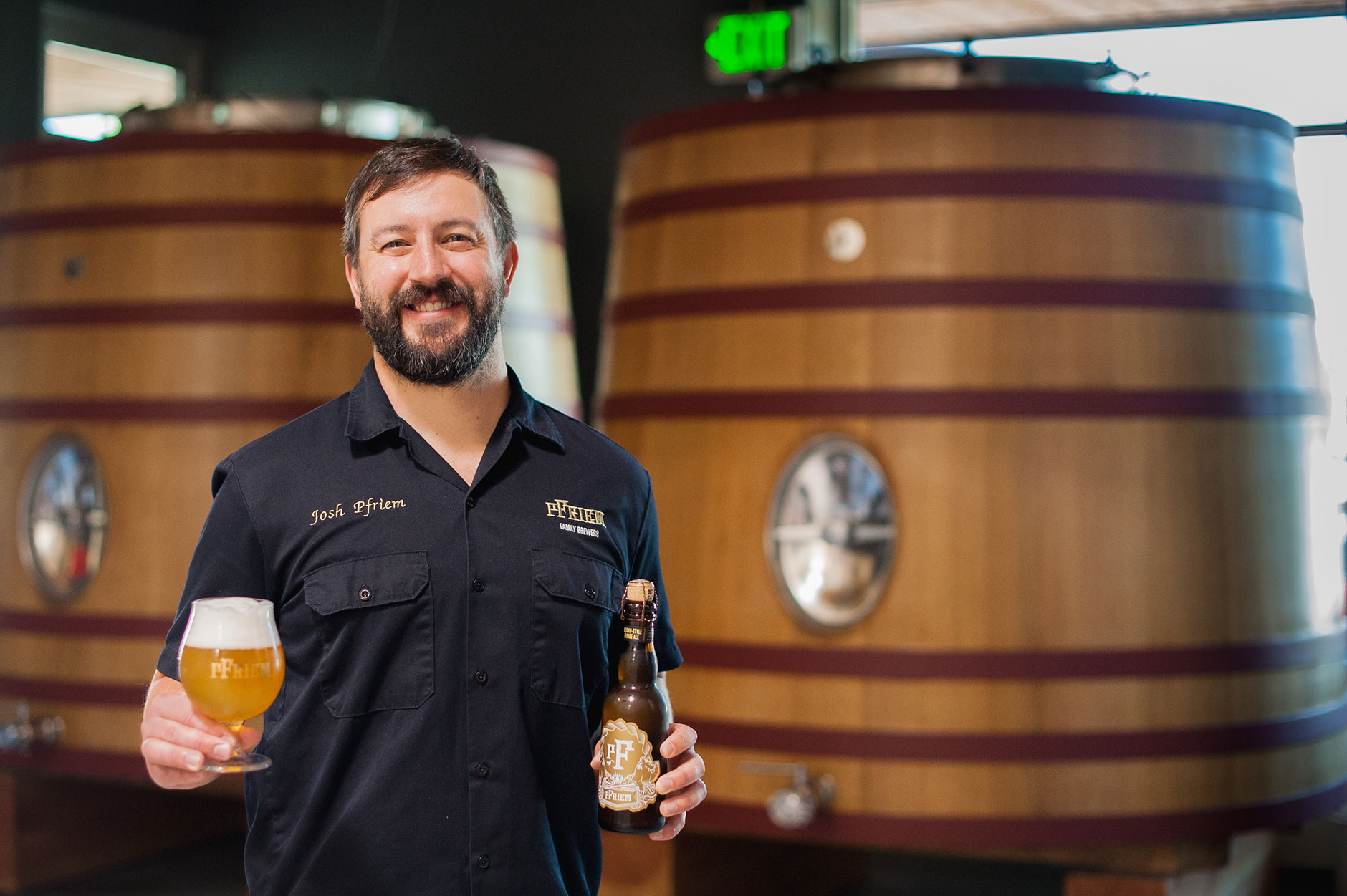 Джош Фрим (Josh Pfriem), владелец и главный пивовар pFriem Family Brewers. Фото: Oh Beautiful Beer