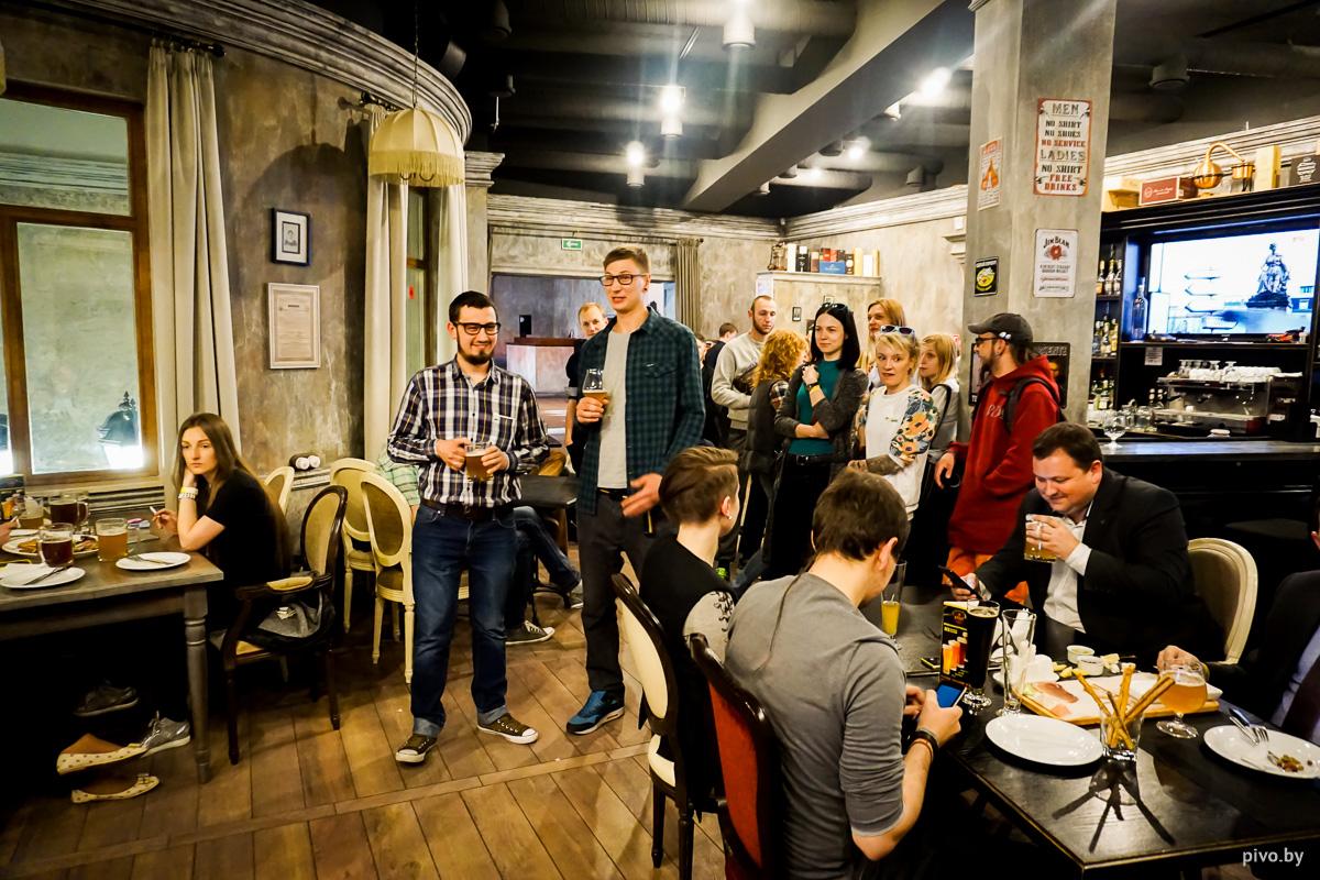 Антон Мостович и Филипп Куприянович рассказывают о своём первом контрактном пиве