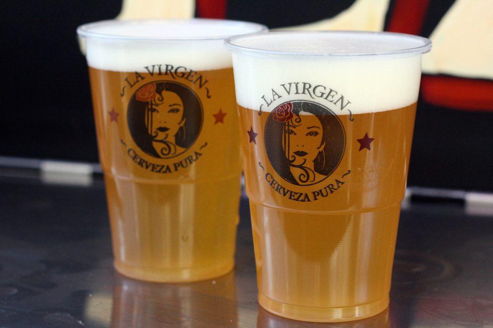 Пиво La Virgen. Фото: Spanish Sabores