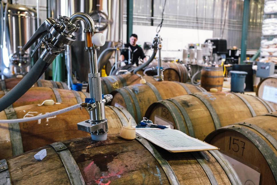 Пивоварня Rare Barrel. Фото: K.B. Gould