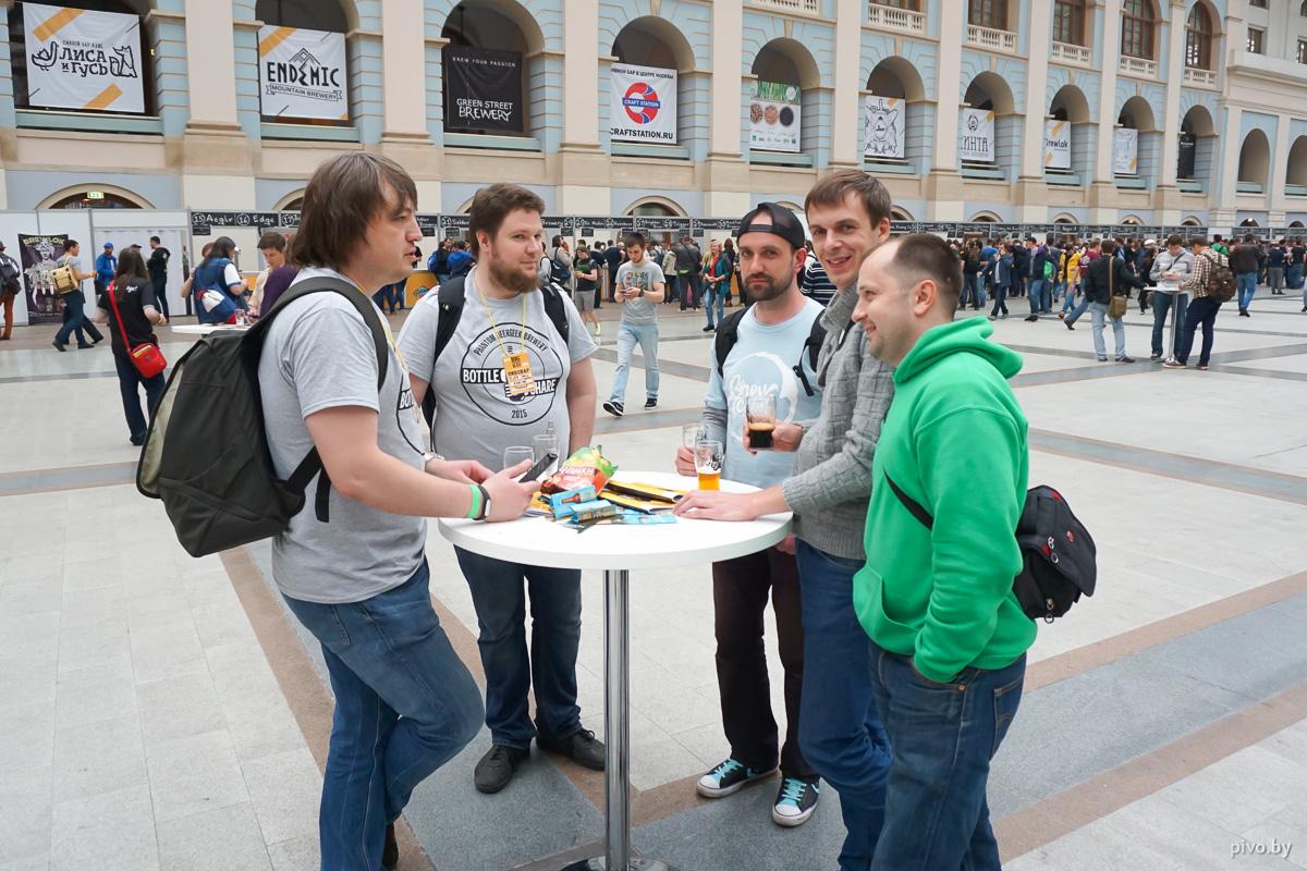 Россияне Bottle Share и белорусы Brew Team обсуждают детали будущей совместной варки?