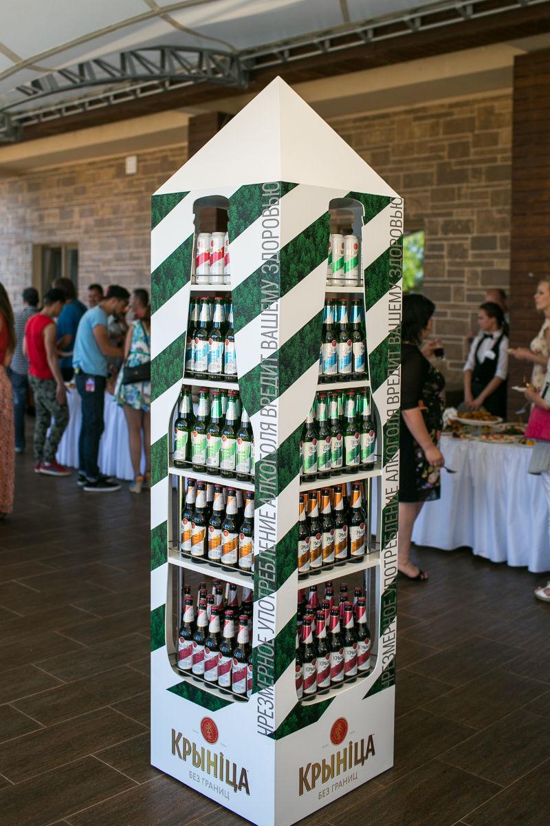 Обновлённая линейка пива «Крыніца». Фото: Крыніца