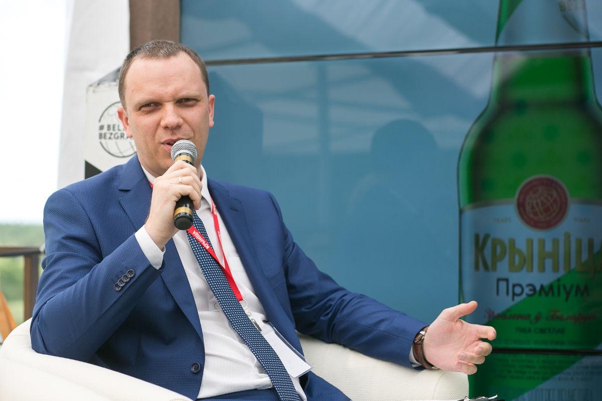 Генеральный директор пивоваренной компании «Крыніца» Александр Кижук. Фото: Крыніца