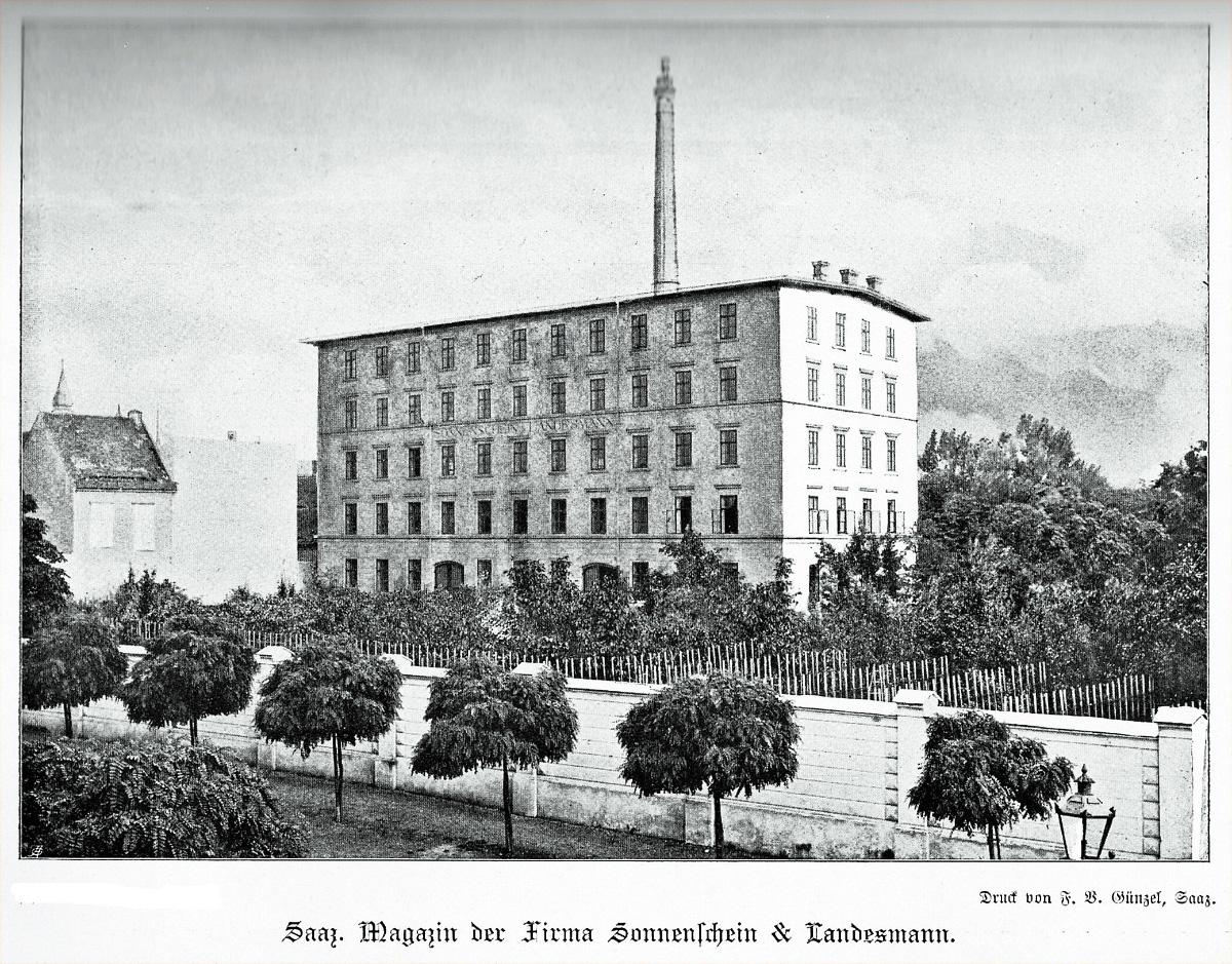 Хмелехранилище Sonnenschein & Landesmann в Жатце