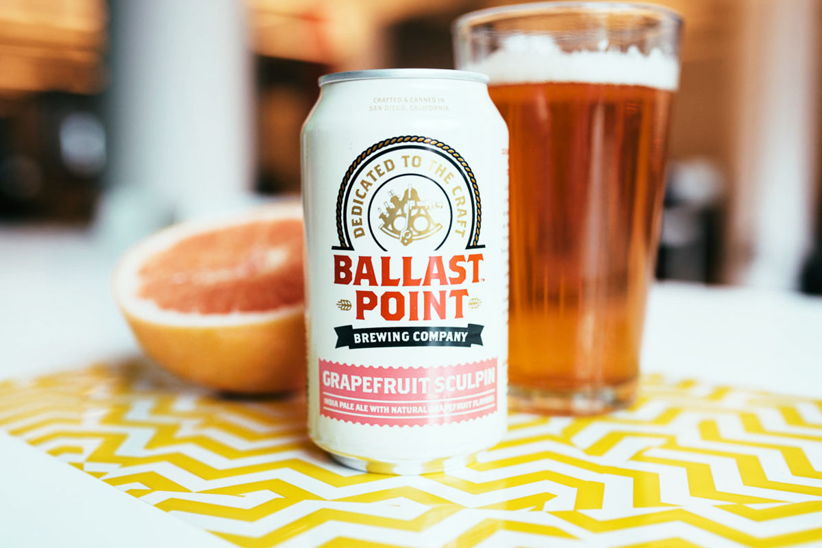 Ballast Point Grapefruit Sculpin. Фото: Josh Rubin