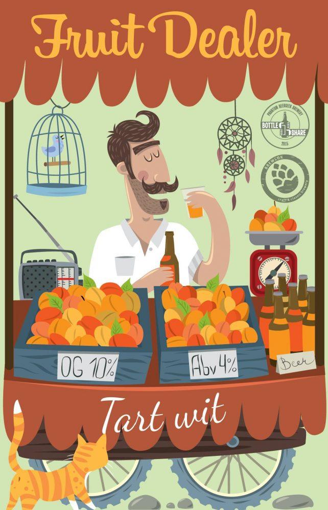 Fruit Dealer Apricot Wit