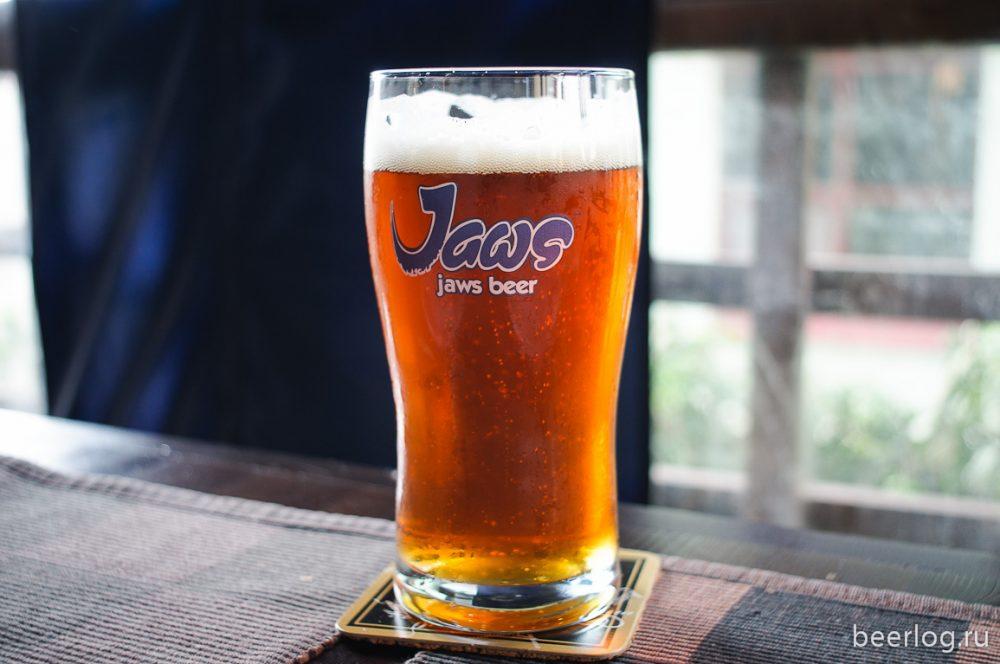 Пиво Jaws. Фото: Mazay