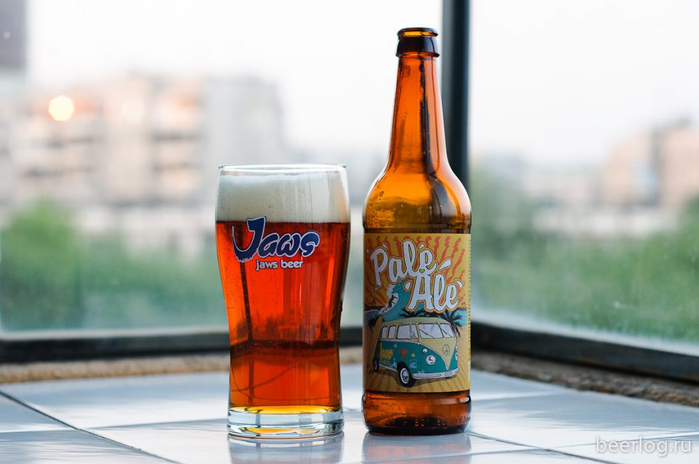 Jaws Pale Ale. Фото: Mazay