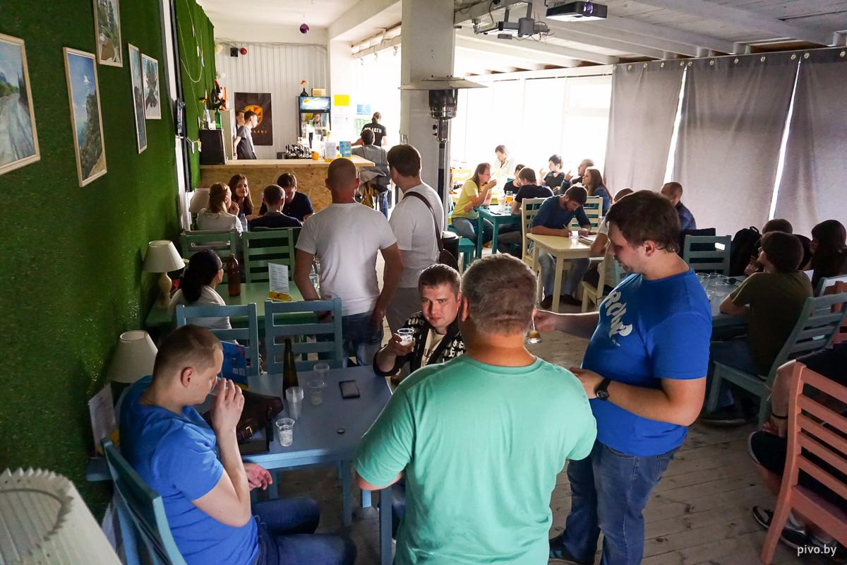 Конкурс домашних пивоваров. Минск, лето 2016