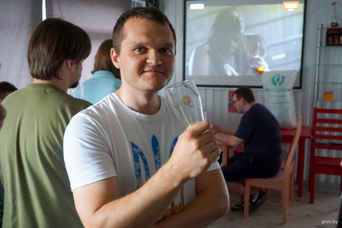 Победитель летнего конкурса домашних пивоваров — Александр Дорогавцев
