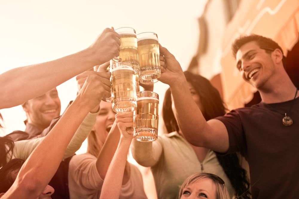 Люди и пиво