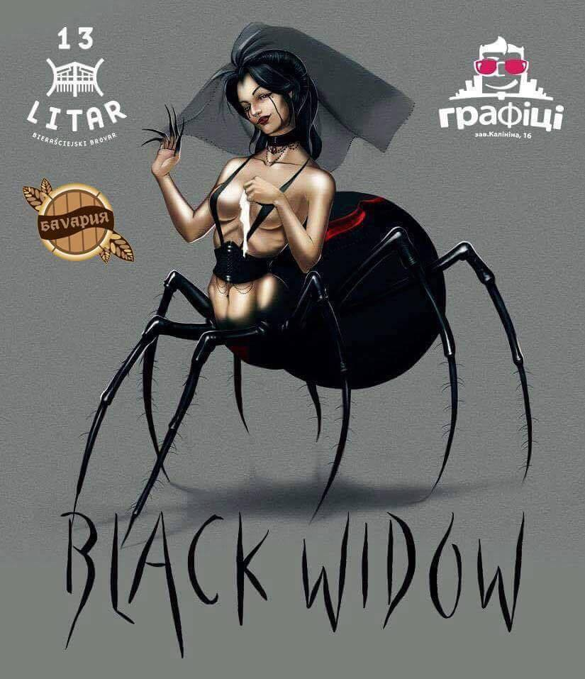 13 Litar — Black Widow
