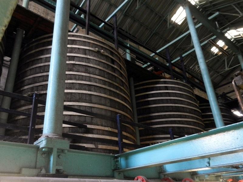 Танки брожения на заводе Guinness. Фото: Jeff Alworth