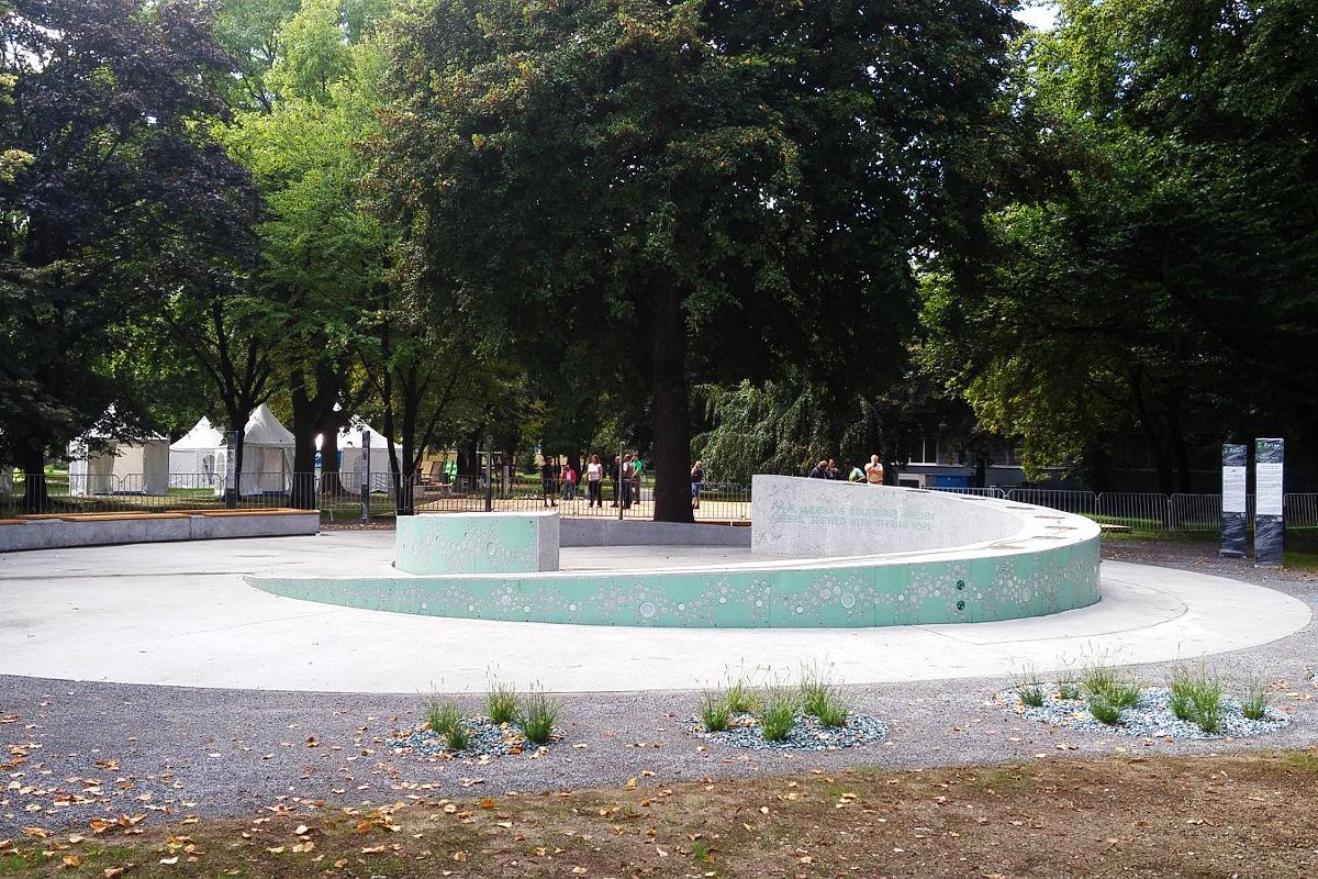 «Пивной фонтан» в городе Жалец. Фото: Lea Komerički