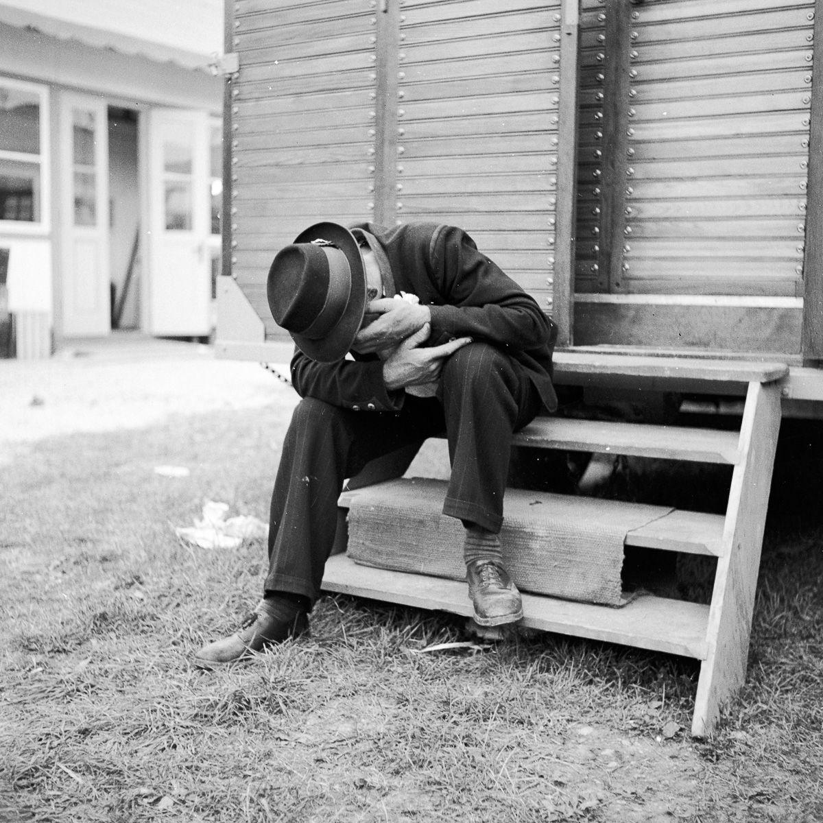 Первая жертва Октоберфеста в 1950 году. Фото: Three Lions / Getty Images