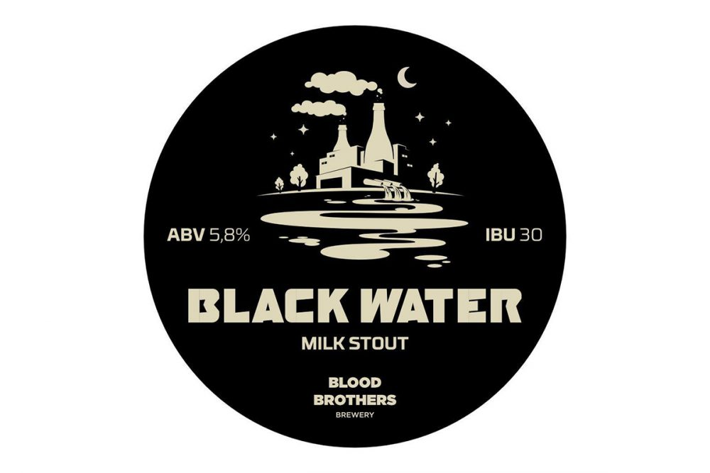 Blood Brothers Brewery — Black Water