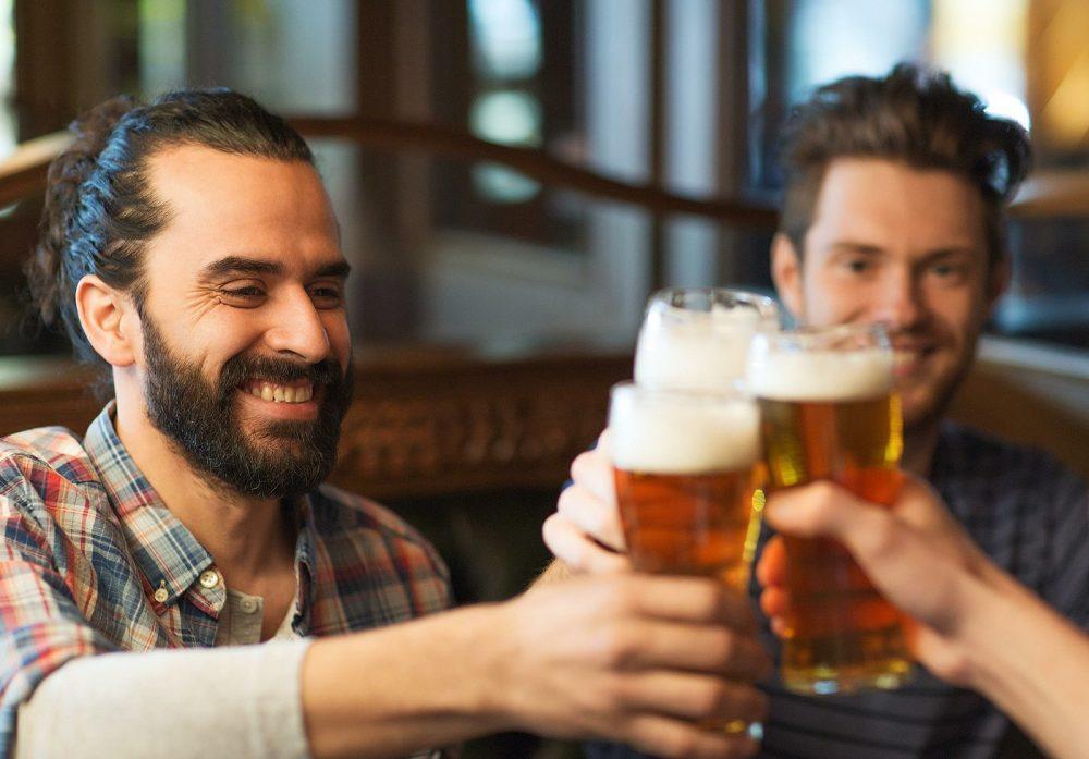 Пиво вместе