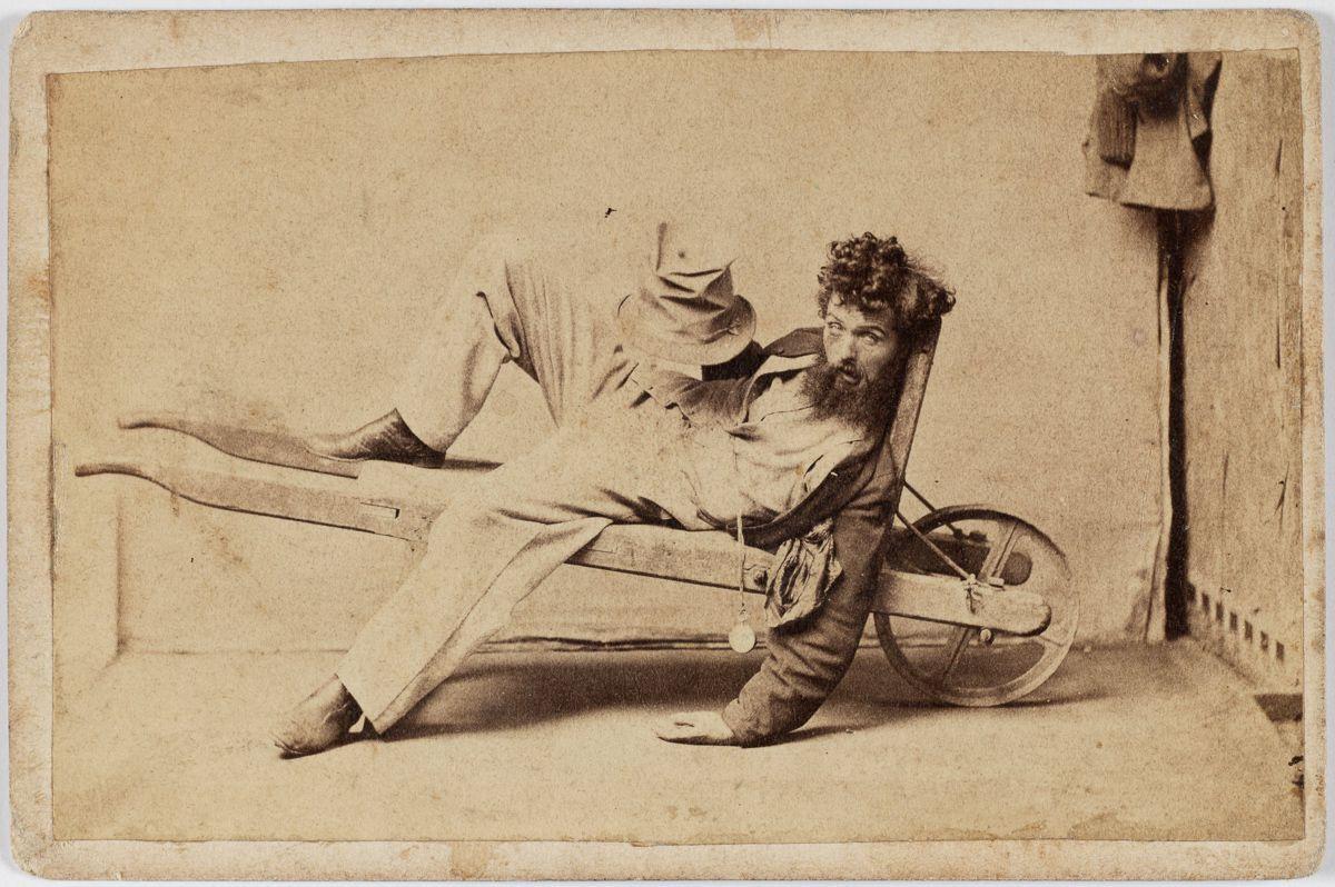 Пятая стадия опьянения. Фото: State library of New South Wales