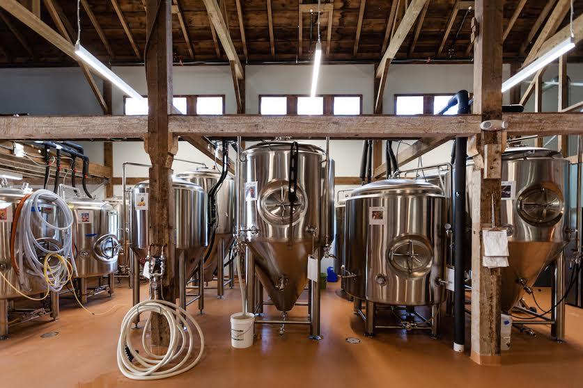 Пивоварня Throwback Brewing. Фото: Throwback Brewing