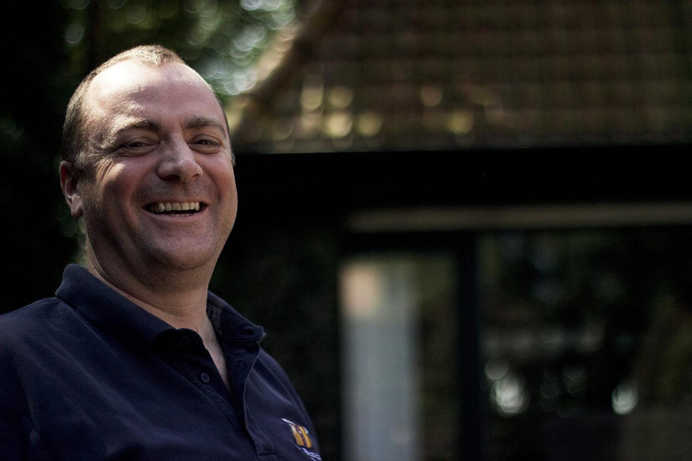 Директор по маркетингу и продажам пивоварни Brouwerij St. Bernardus Марко Пассарелла. Фото: Breandán Kearney