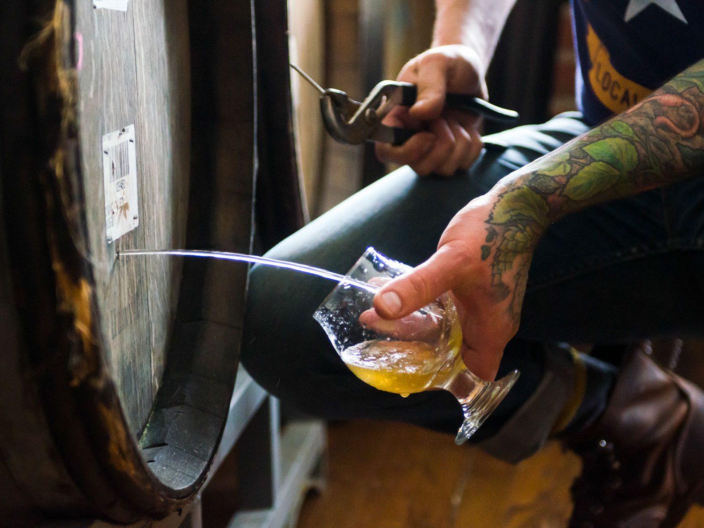 Пиво Barrel Aged