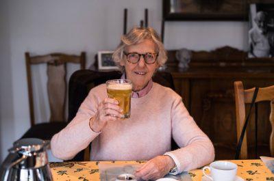 78-летняя Дина из Бельгии