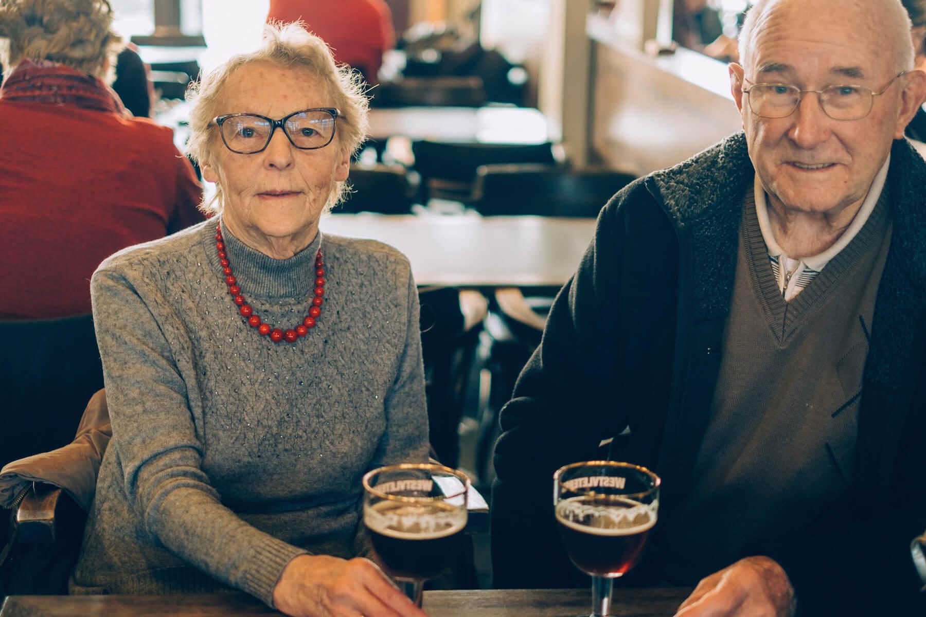 78-летняя Моник из Бельгии