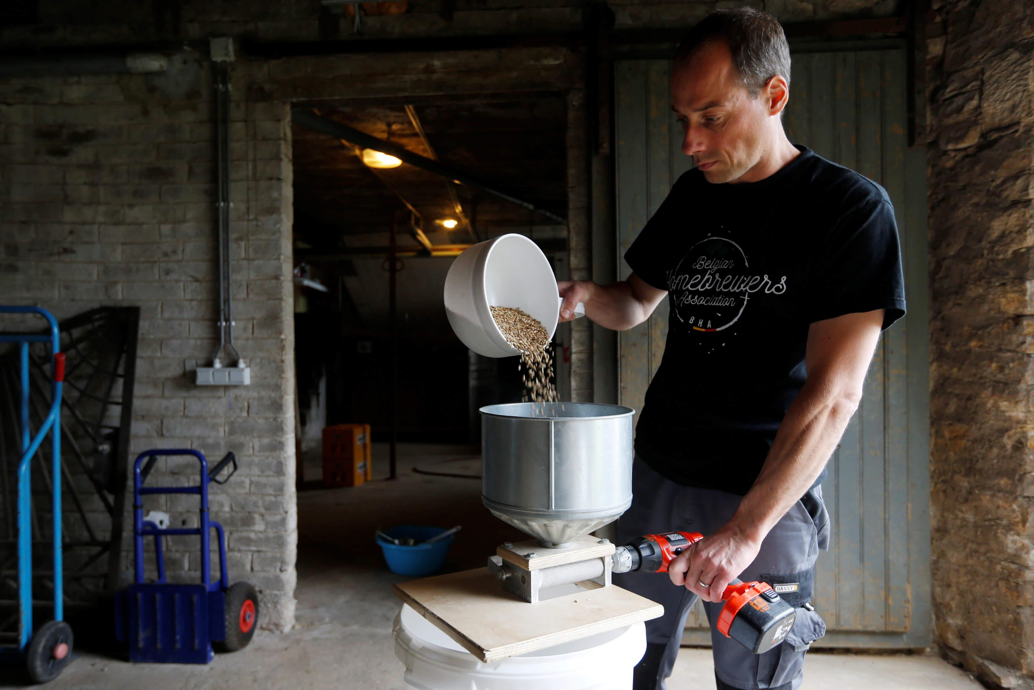 Домашнее пивоварение в Бельгии