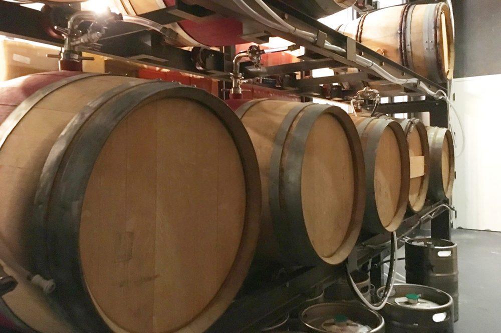 Система розлива пива из бочек Rack AeriAle