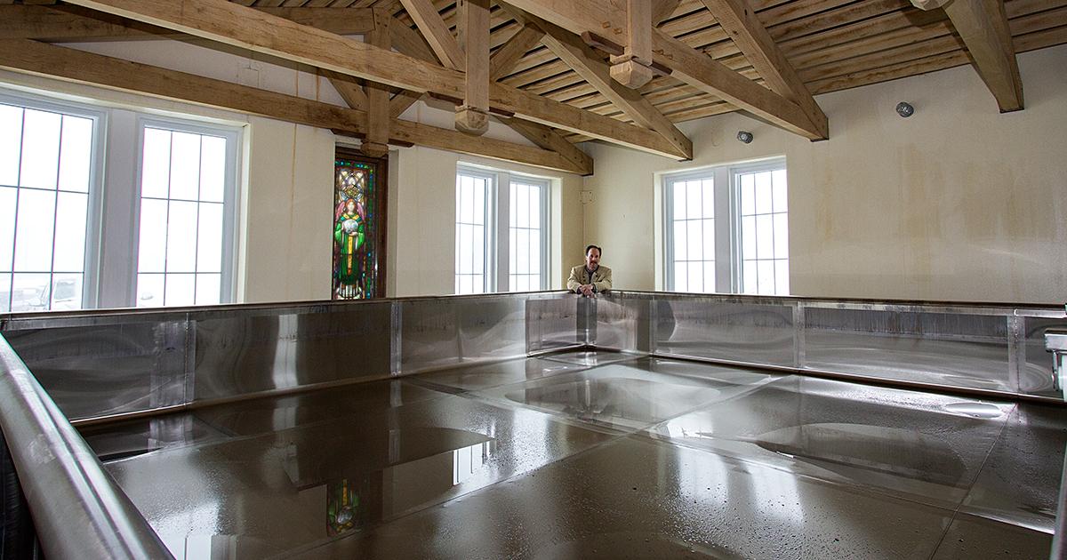 Кулшип на пивоварне New Glarus