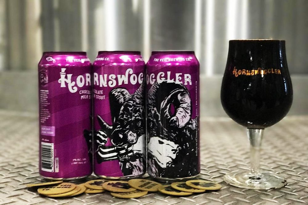 Veil Brewing Co. Hornswoggler with Oreos