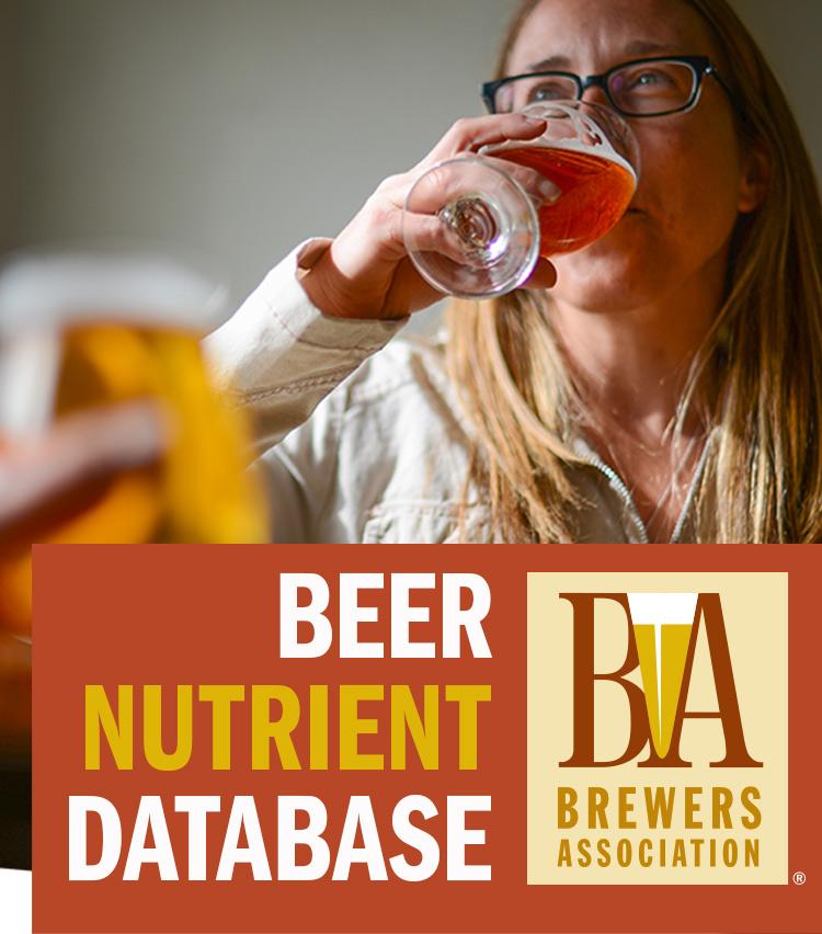 База данных энергетической ценности пива
