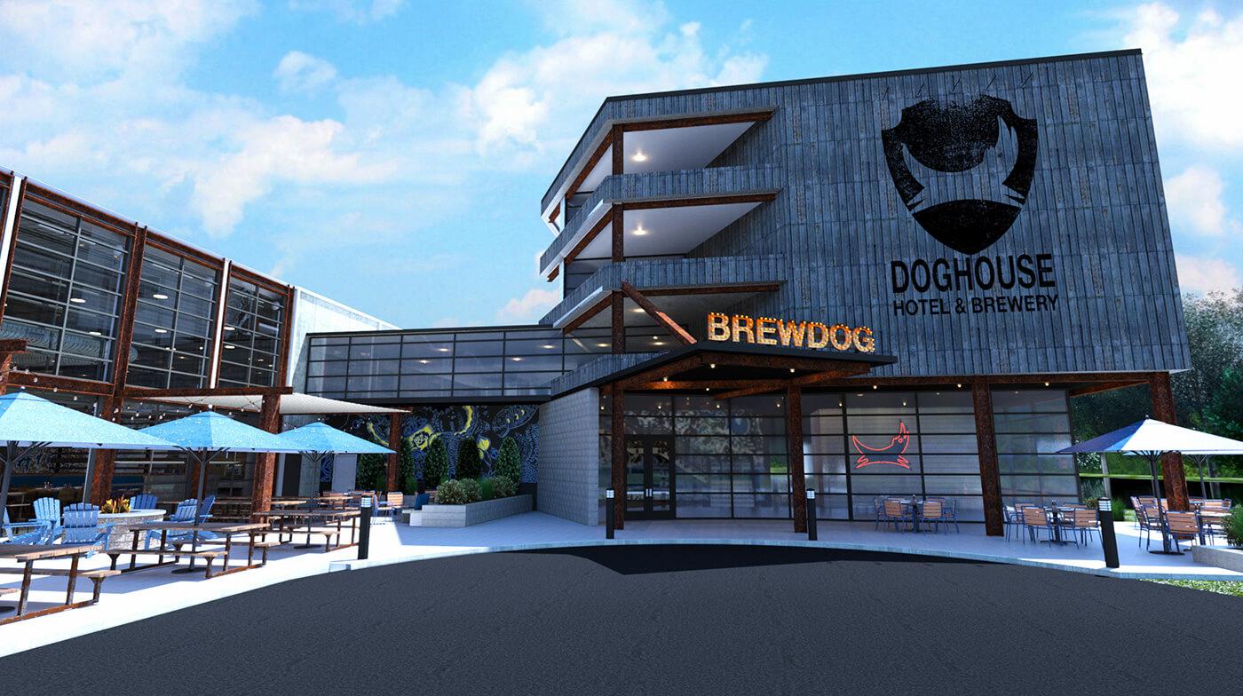 Крафтовый пивной отель BrewDog