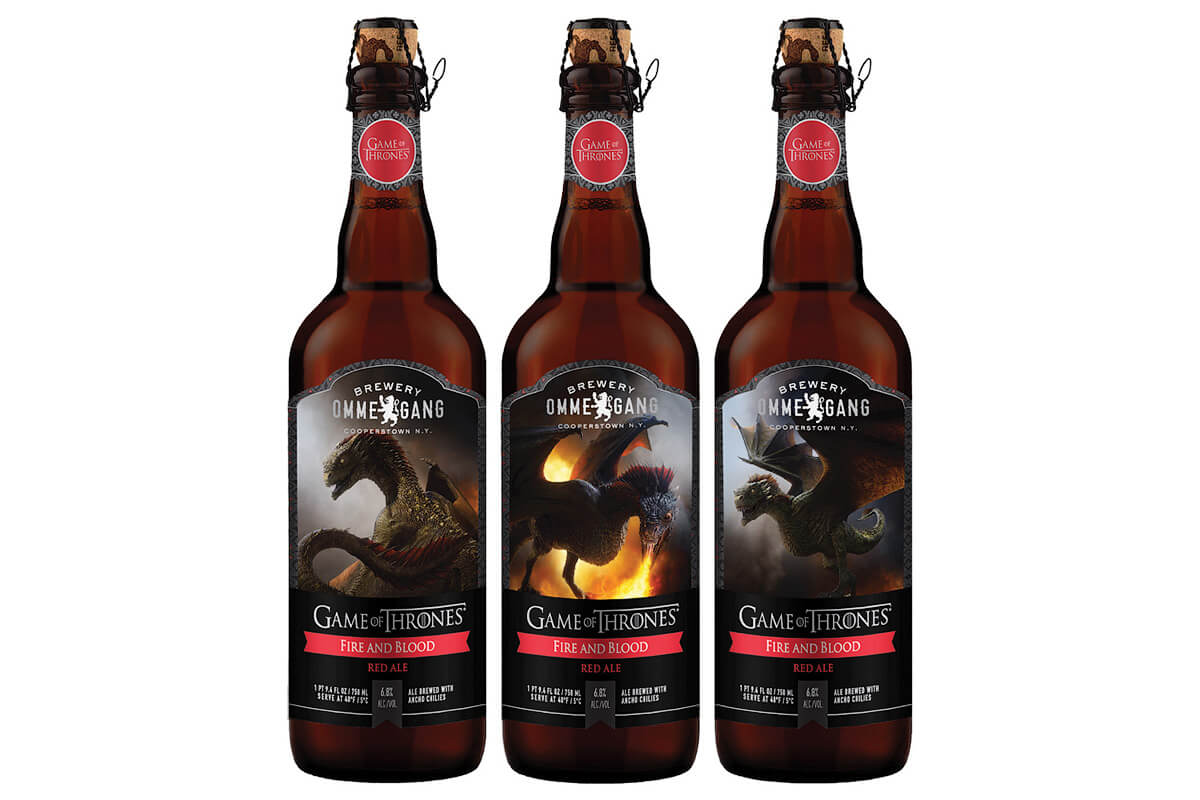 Brewery Ommegang Fire and Blood