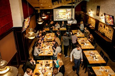 Презентация пива «Статут 1588» пивоварни «Друзья»