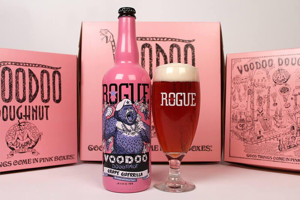 Rogue Voodoo Doughnut Grape Guerrilla
