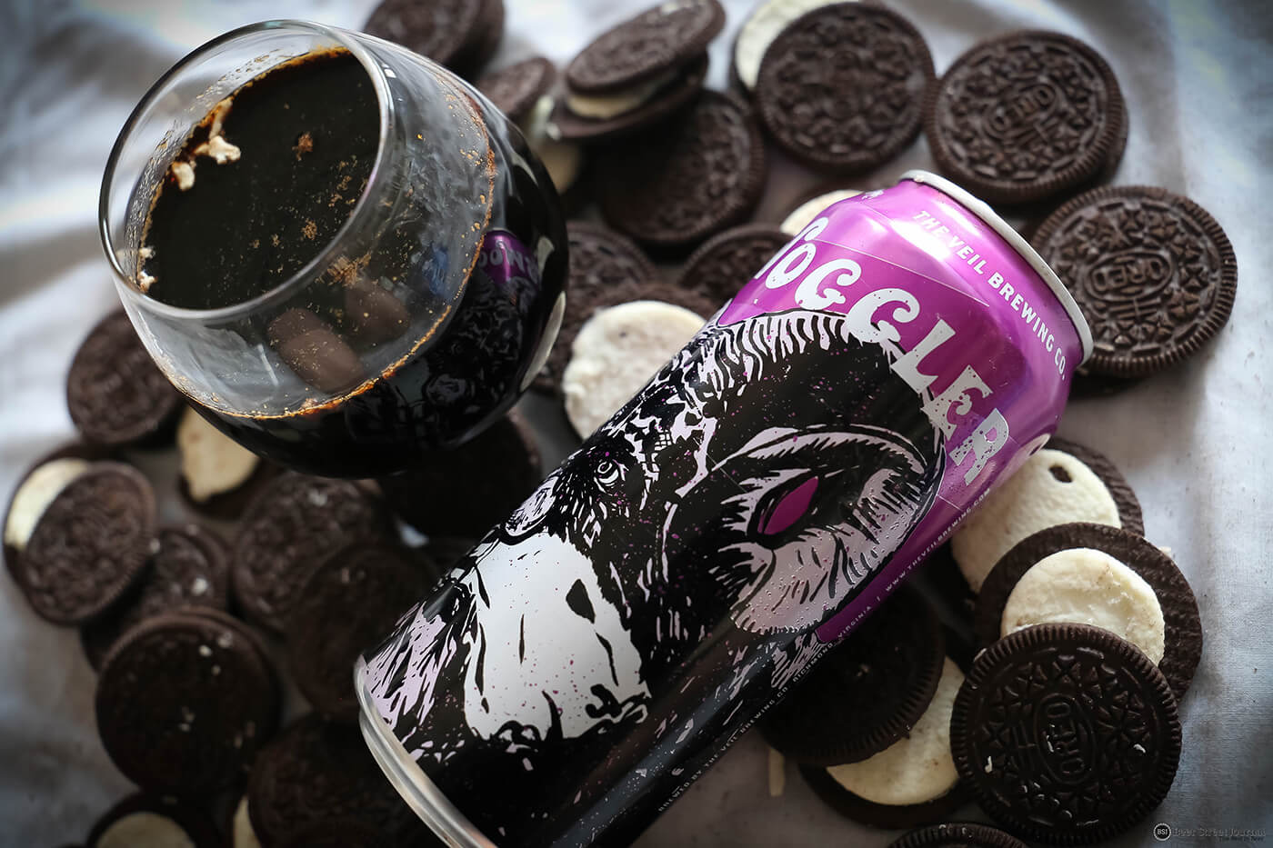 The Veil Hornswoggler with Oreo