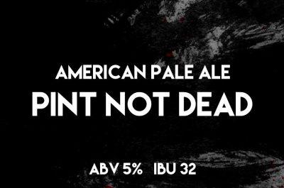 Jungle Brewery Pint Not Dead