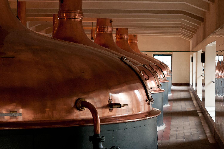 Варочный порядок на заводе Pilsner Urquell