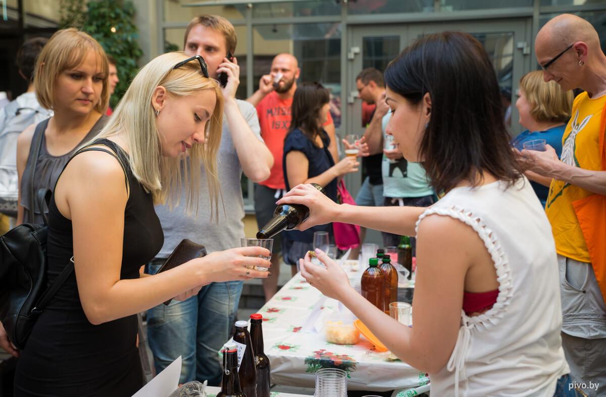 II мини-фестиваль домашнего пива в Минске