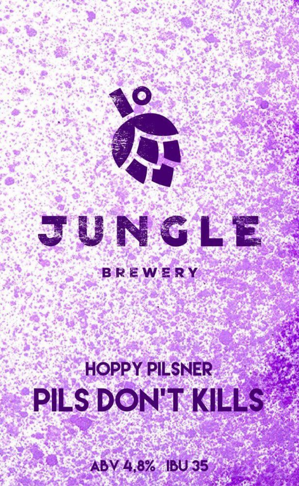 Jungle Brewery Pils Don't Kills