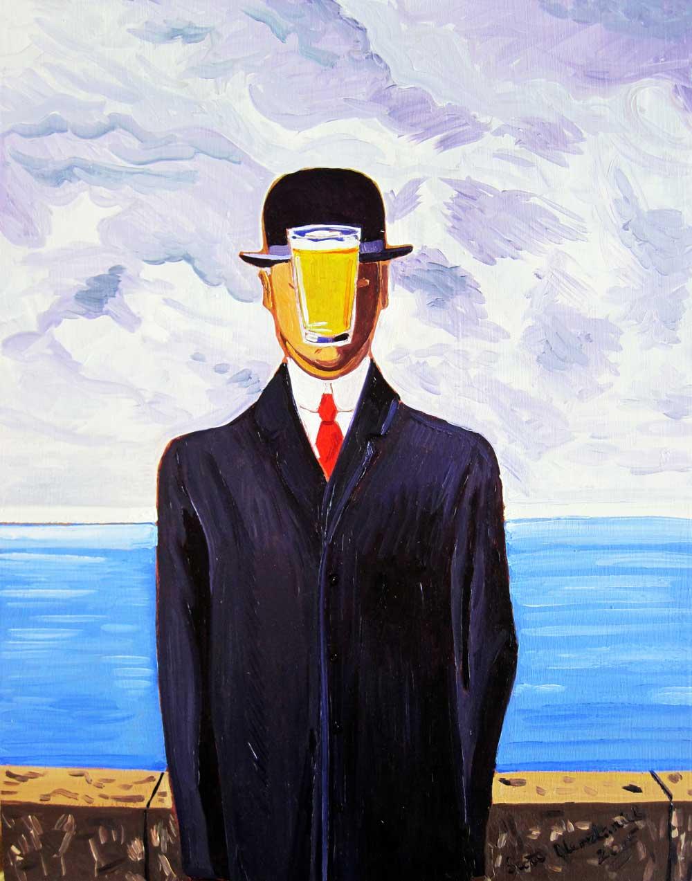 Рене Магритт «Вероломство образов»
